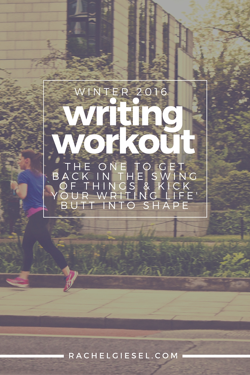 Do you need to get back into the habit of reading and writing? Check out the Writing Workout Winter 2016 Edition. Featuring a regimented course syllabus of what to read and what to write, you're sure to kick your writing life's butt back into shape.