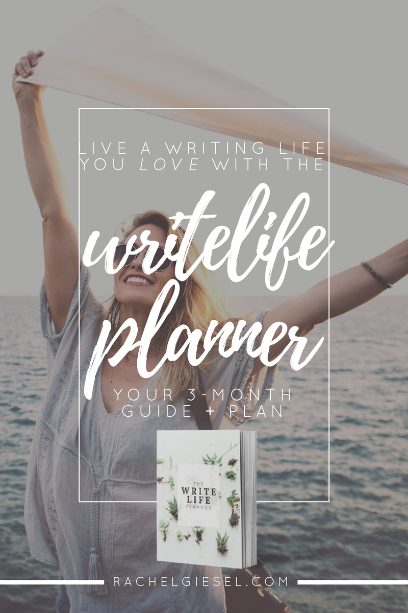 To live your best writing life, you need to set goals to accomplish your big dreams and tackle them one step at a time. You have to be intentional with your approach, making the time and space for life and the time and space for writing. You have to take consistent baby-steps to actually accomplish your writing goals, experiment with your writing process to perfect your best writing routine, show writing the love and attention it deserves to thrive, and balance writing with your life, so you can be both the human and the writer you hope to be. And I created an AWESOME tool to help you do it. Say hello to The WriteLife Planner – your 3-month guide to conquering one major writing project, strengthening your writing practice, and loving your writing life while you do it. Click through to read the whole post!