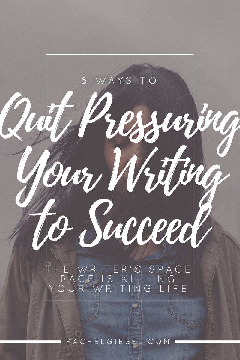 """Do you feel the pressure to publish something NOW? To be validated as a writer? To have """"accomplished"""" something? Don't let the """"NOW"""" pressure your writing, or else you'll get overwhelmed, you'll paralyze your process, and your writing will suck. Learn how to retrain your thinking, fight back those insecurities, and feel confident with your writing."""
