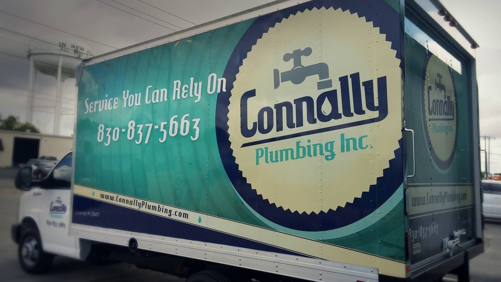 Connally Plumbing Box Truck
