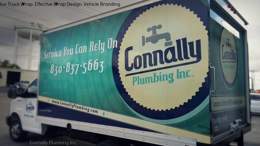 Connally Plumbing Box Truck