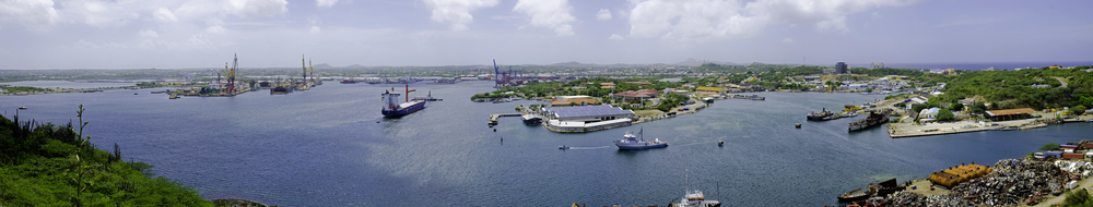 Leaving Curacao, sailing to Bonaire