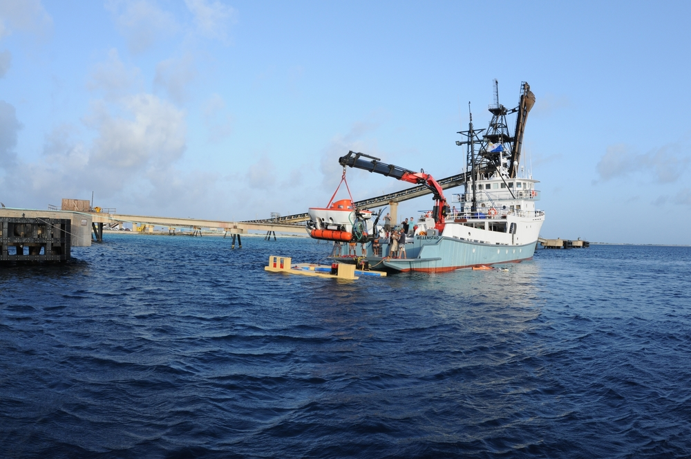 Deploying the Curasub at Saltpier