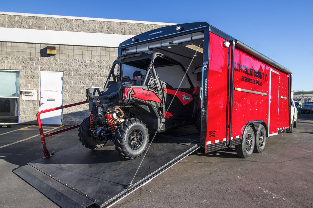 FireFighter Equipment Trailer
