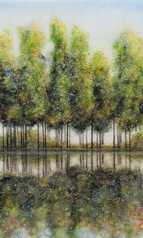 Poplars on the Water