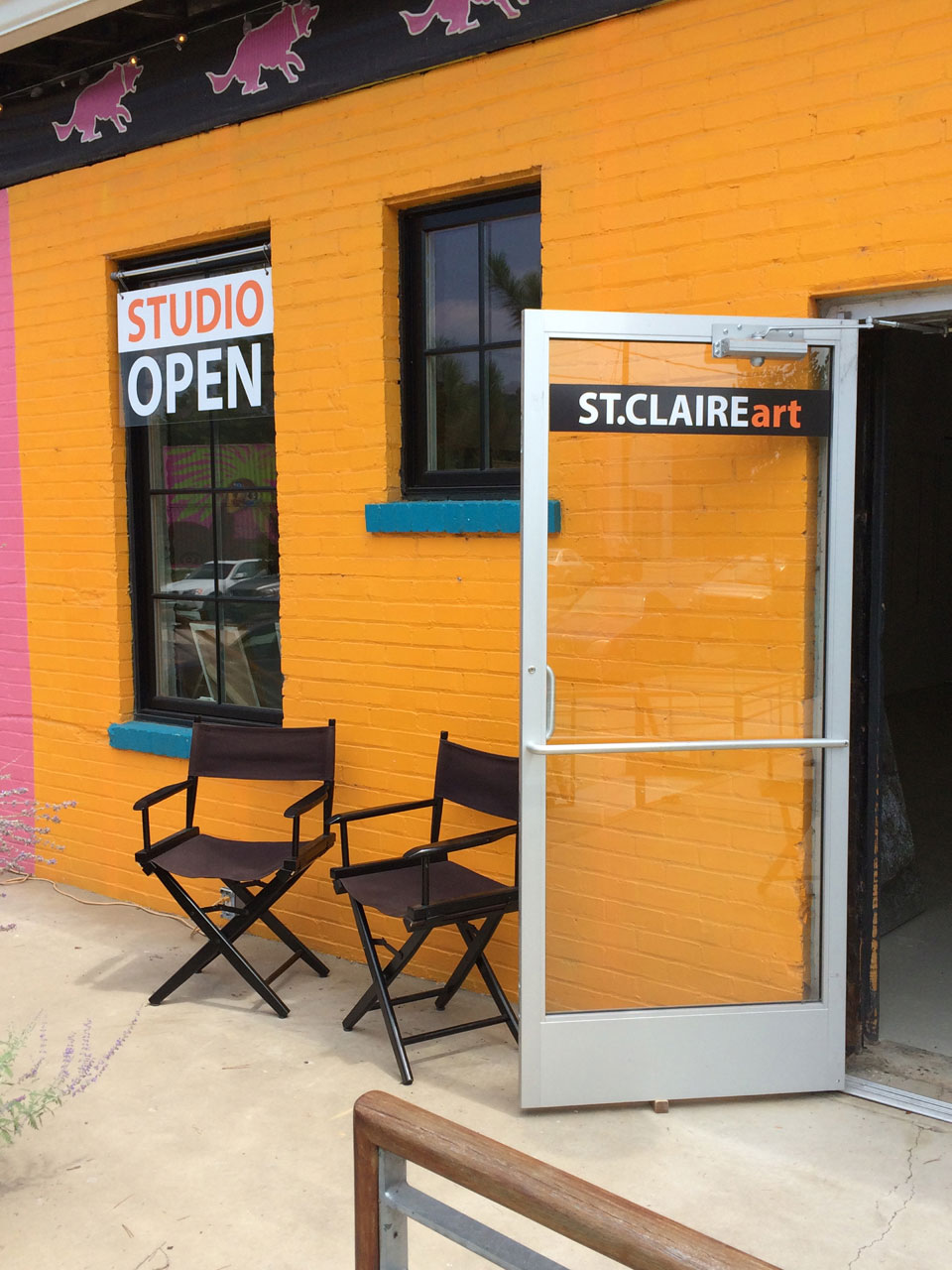 St. Claire Art Studio & Gallery | River Arts District | Asheville, NC