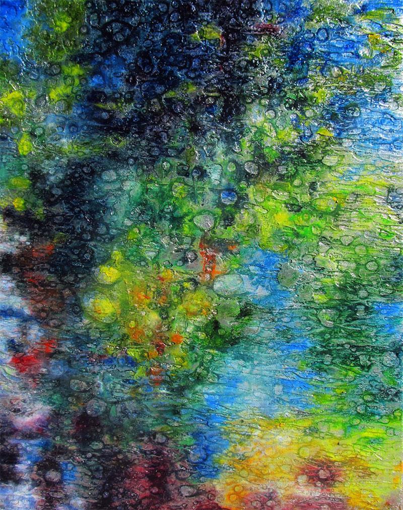Reflections on Connemara Lake