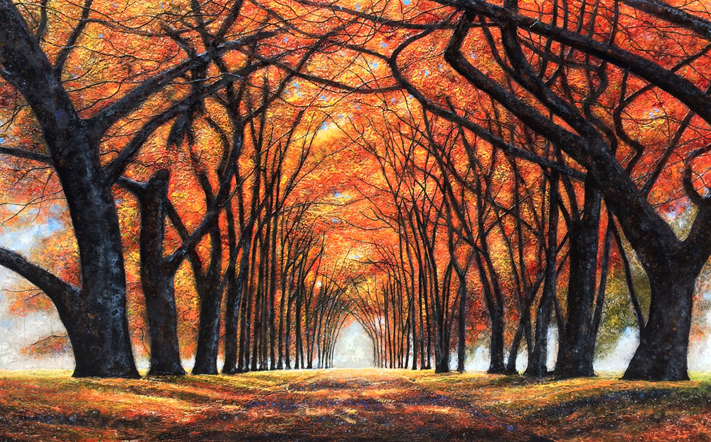 Autumnal Arms Enfolding
