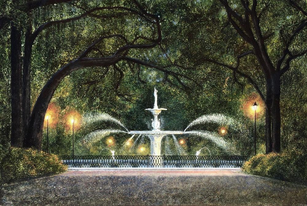 Forsyth Park Fountain & Forsyth Park Fountain u2014 St. Claire Art