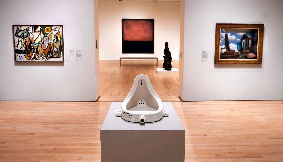 """The Fountain"" by Marcel Duchamp"