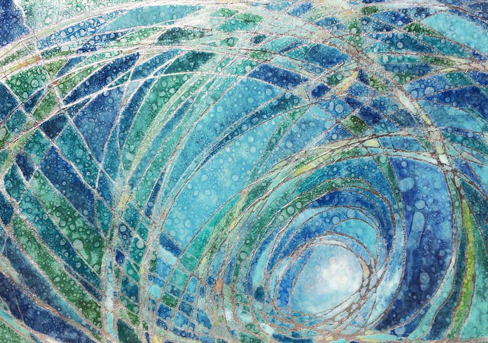 Azure Spirals