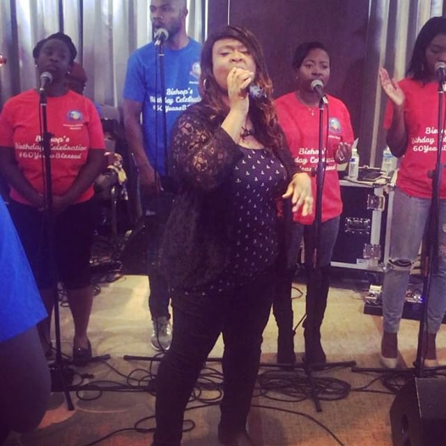 Indeed all the glory belongs to God!! I can't thank him enough.  Also want to that Triumphant Global Ministry & @alex.boateng for the invitation. God richly bless you and your ministry 🙏🏽. #themabelproject #worship #worshipleader #gospelmusic #gospel #ukgospel #ukgospelartist #ukgospelmusic