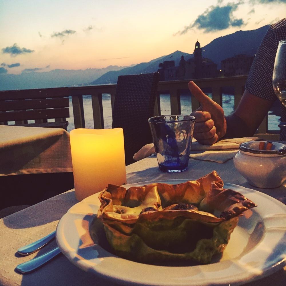 Lasagna al forno con pesto. Parcel of pesto paradise.