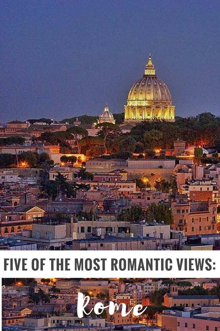 romantic views rome