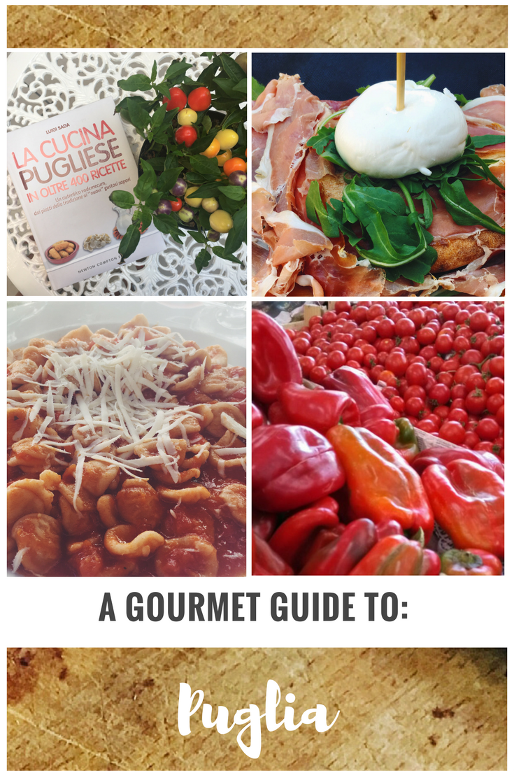 Gourmet Guide Food Italy
