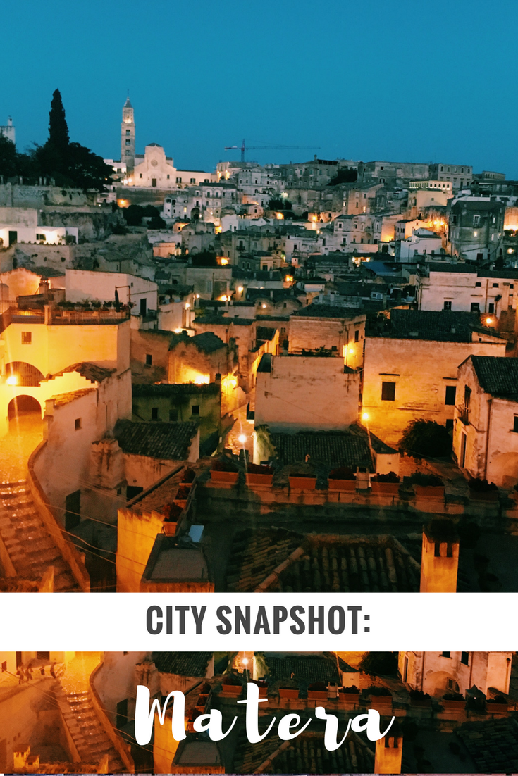 Matera: the only Italian city you need to visit next year