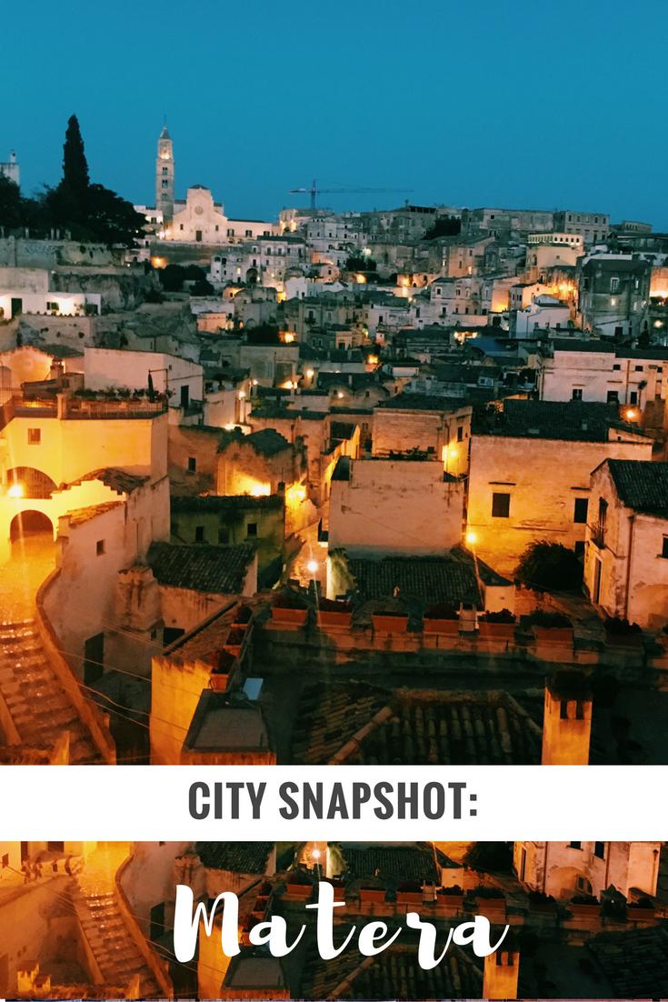 Matera Basilicata City