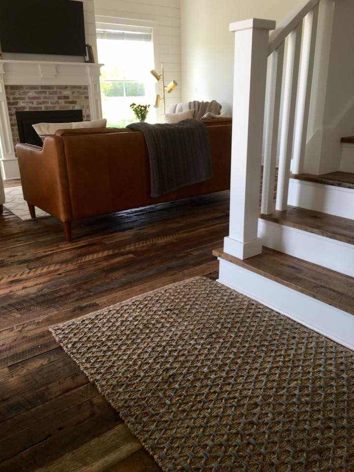 Hit & Miss Oak flooring, custom stair treads.jpg
