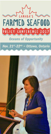 Keynote speaker Amy Novogratz, Managing Partner, Aqua-Spark