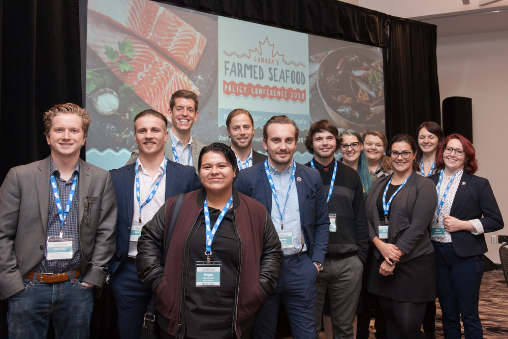Council members convened their first face-to-face meeting at Canada's Farmed Seafood Policy Conference 2018. Conference delegates had the opportunity to learn more and to meet the council members at a dedicated breakfast to open the event.