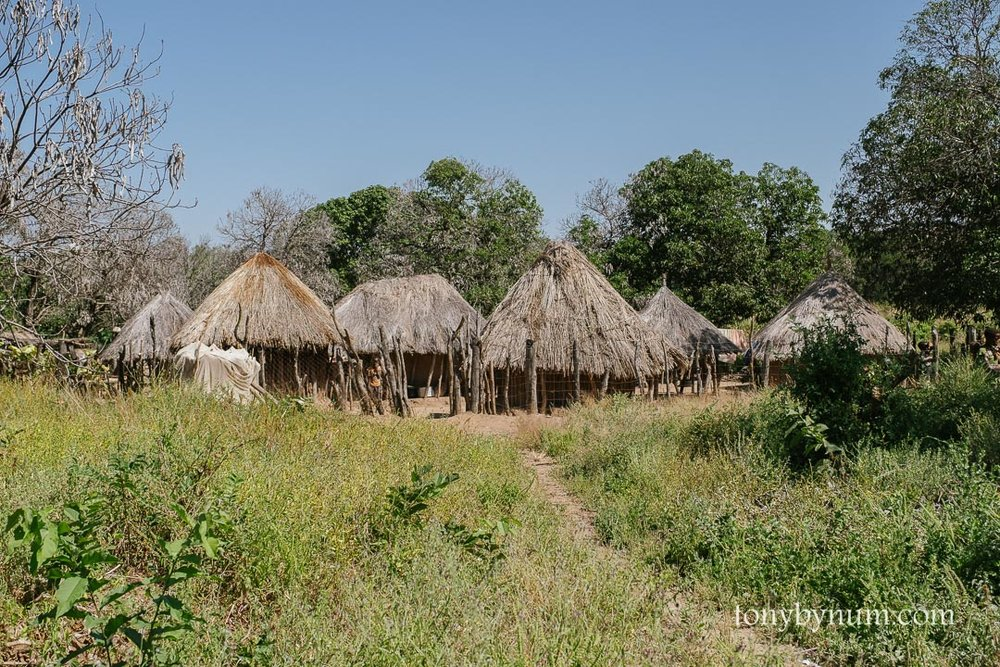 Tsoli tribal village awaiting a school.