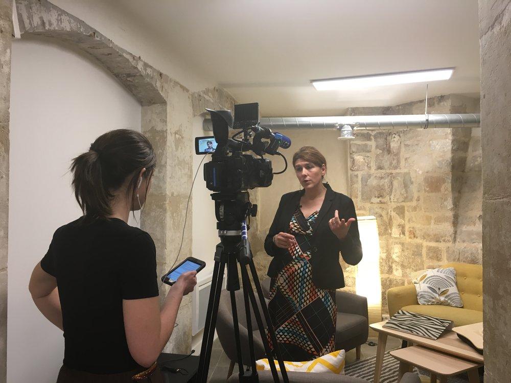Interview de la candidate Charlotte Marchandise
