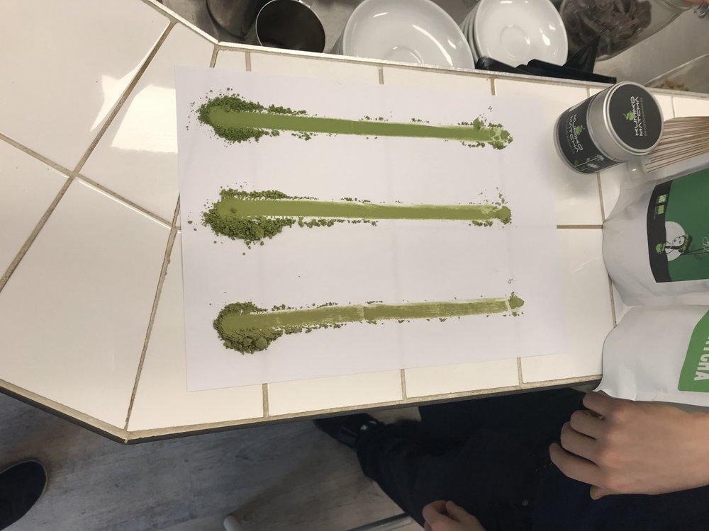 Matcha, art du thé