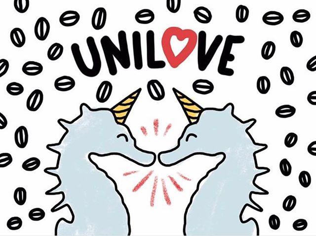 On profite de ce 14 février pour vous dire qu'on vous aime ! ❤️🦄 Déjà plus d'un an de coworking, de cafés, d'échanges, de rigolades ... tant de bon moments ^^ Nous vous souhaitons à tous une heureuse St Valentin !  #valentinesday #saintvalentin #amour #cafe #coworking #paris #unicorn #licorne #coeur #unilove