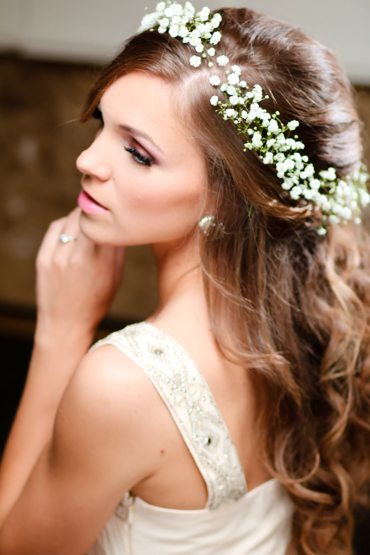 beautiful wedding hair and makeup gallery of brides | millionaire
