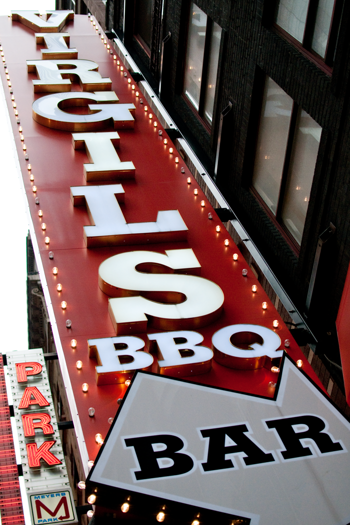 Virgils BBQ Bar, New York City BBQ, BBQ, New York