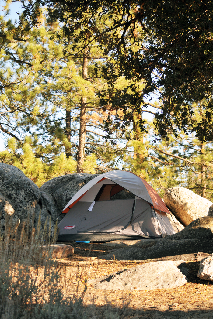 Camping, Chilao Campgrounds, Angeles National Forest
