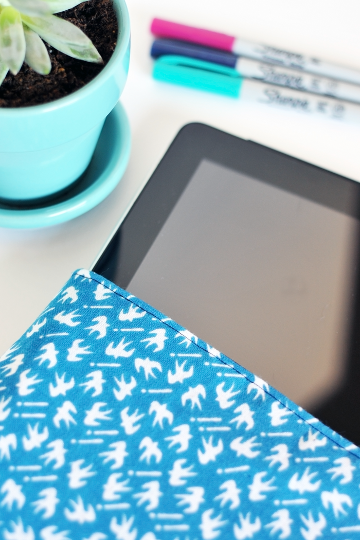Eas DIY Ipad sleeve, ipad case, make yourself, cutton ipad sleeve