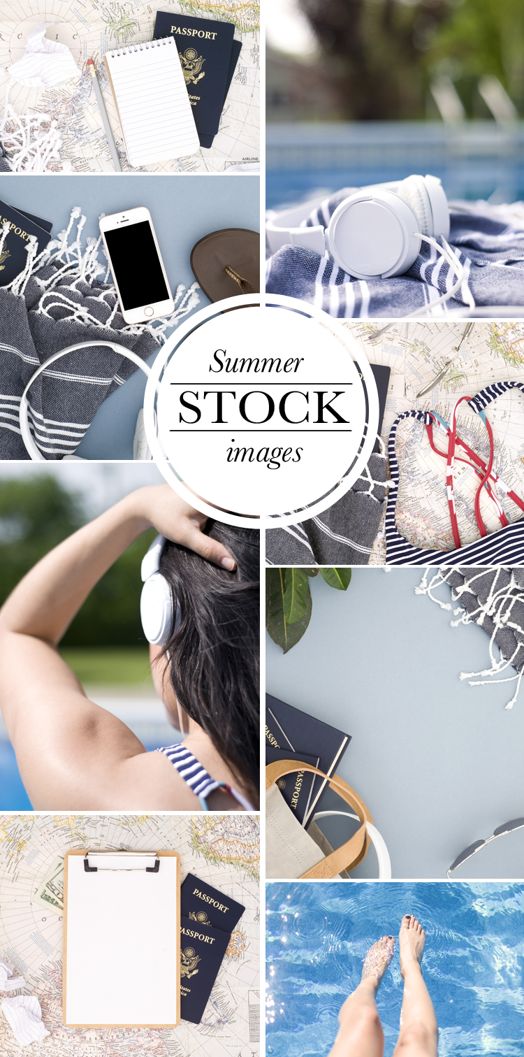 Sumer Vibes Style Stock Images