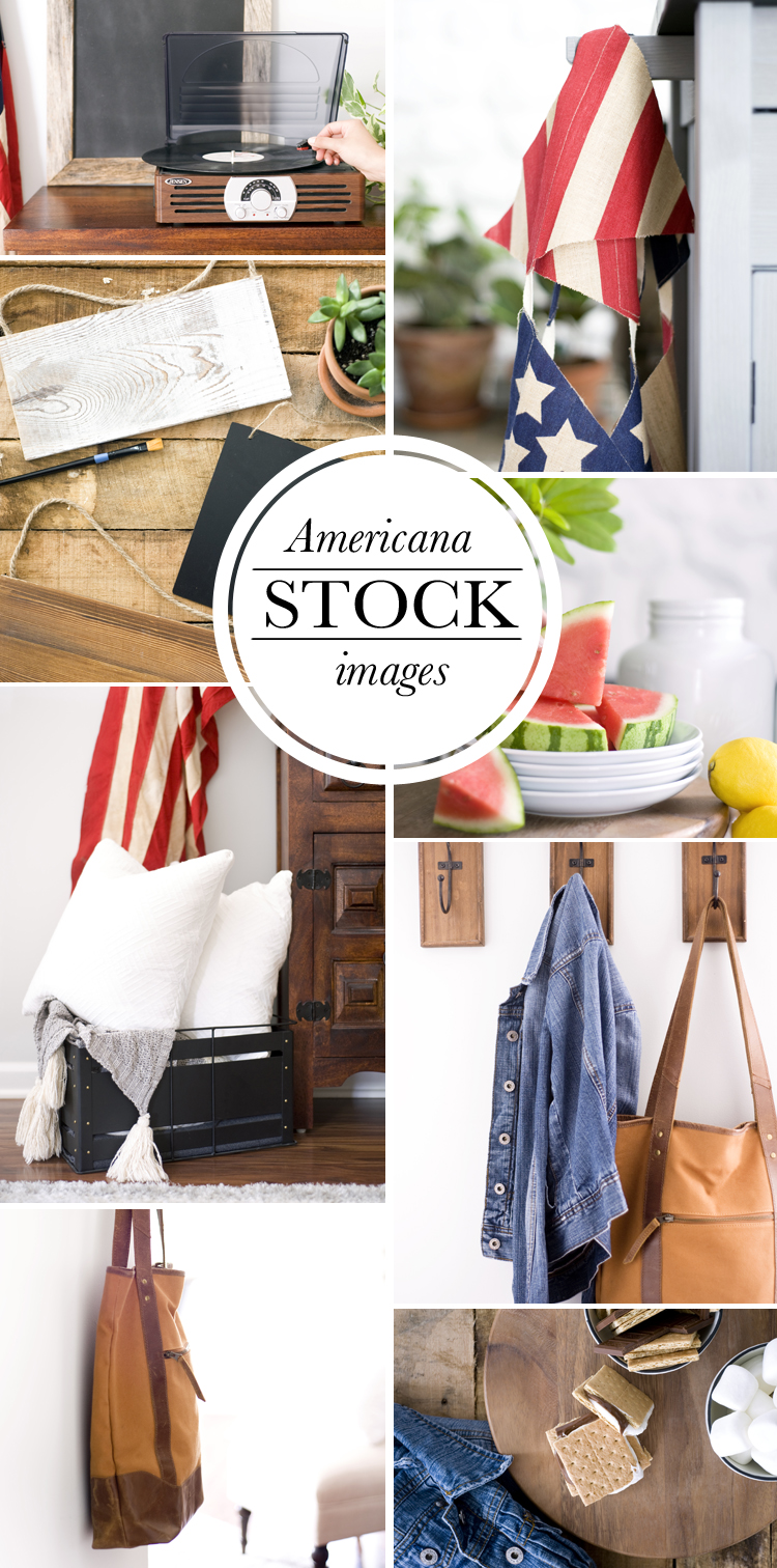 Americana Styled Stock Images