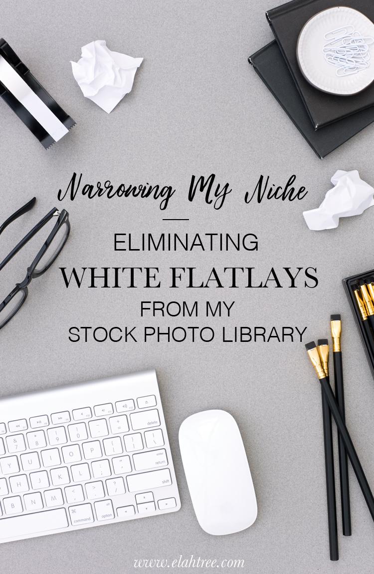 Unique Flatlays. More then just white background.