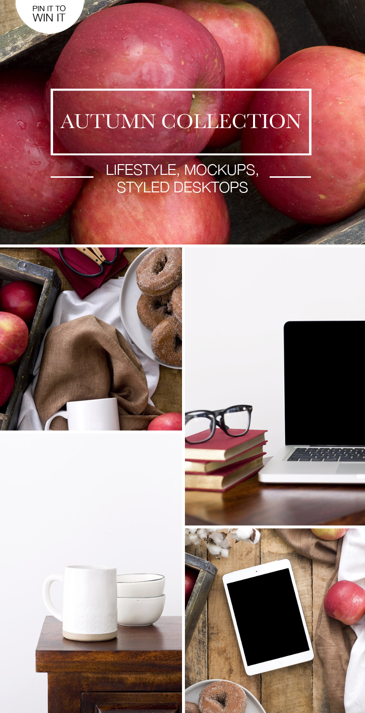 Autumn Lifestyle, Mockups & Desktop Stock Images (PIN IT TO WIN IT!)