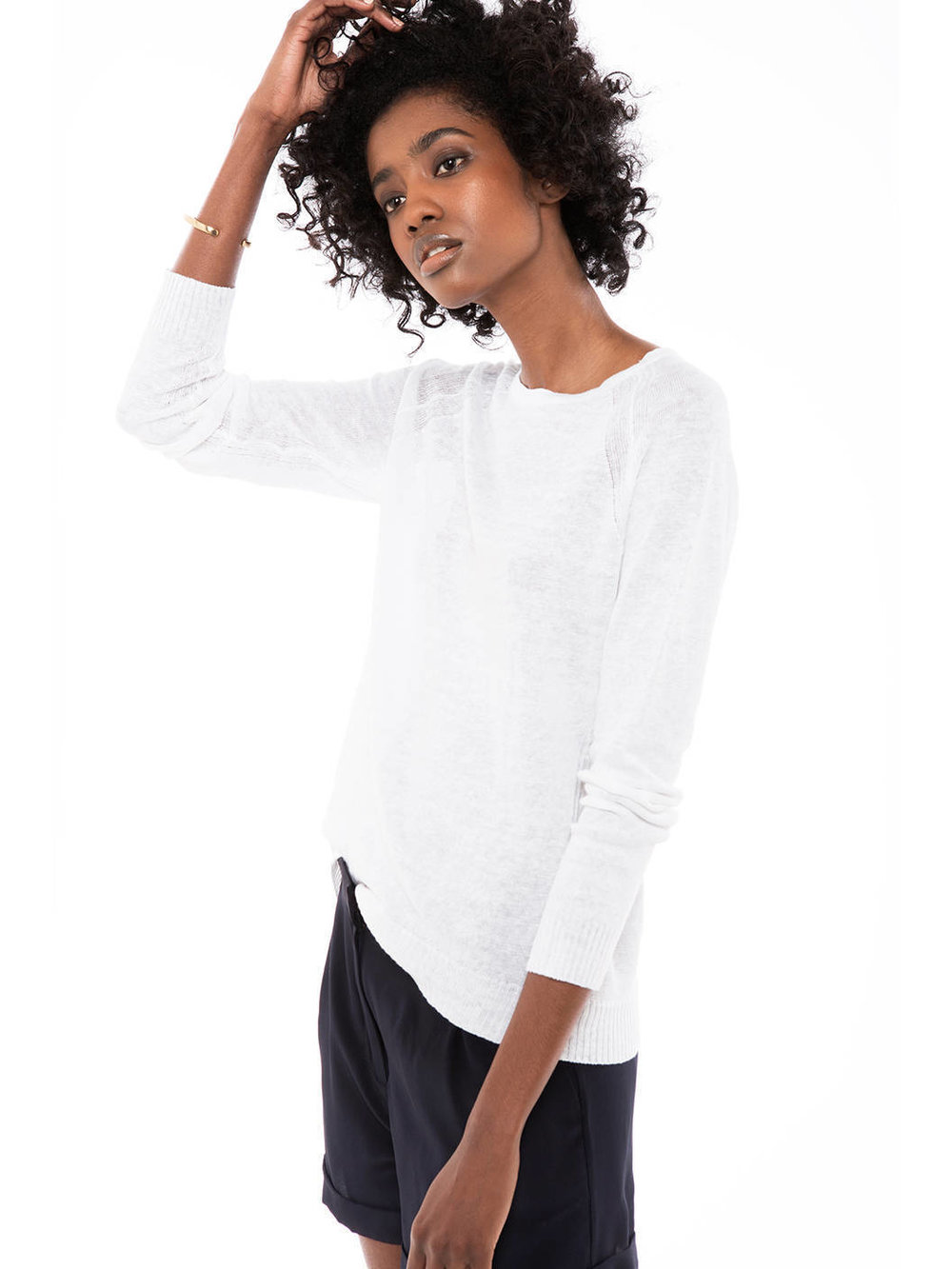 Linen Sweater from Zady ($160)