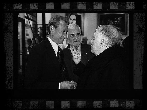 Bertrand Delanoë, Jean-Claude Brialy