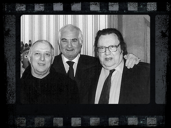 Jean-Claude Brialy et Raymond Devos