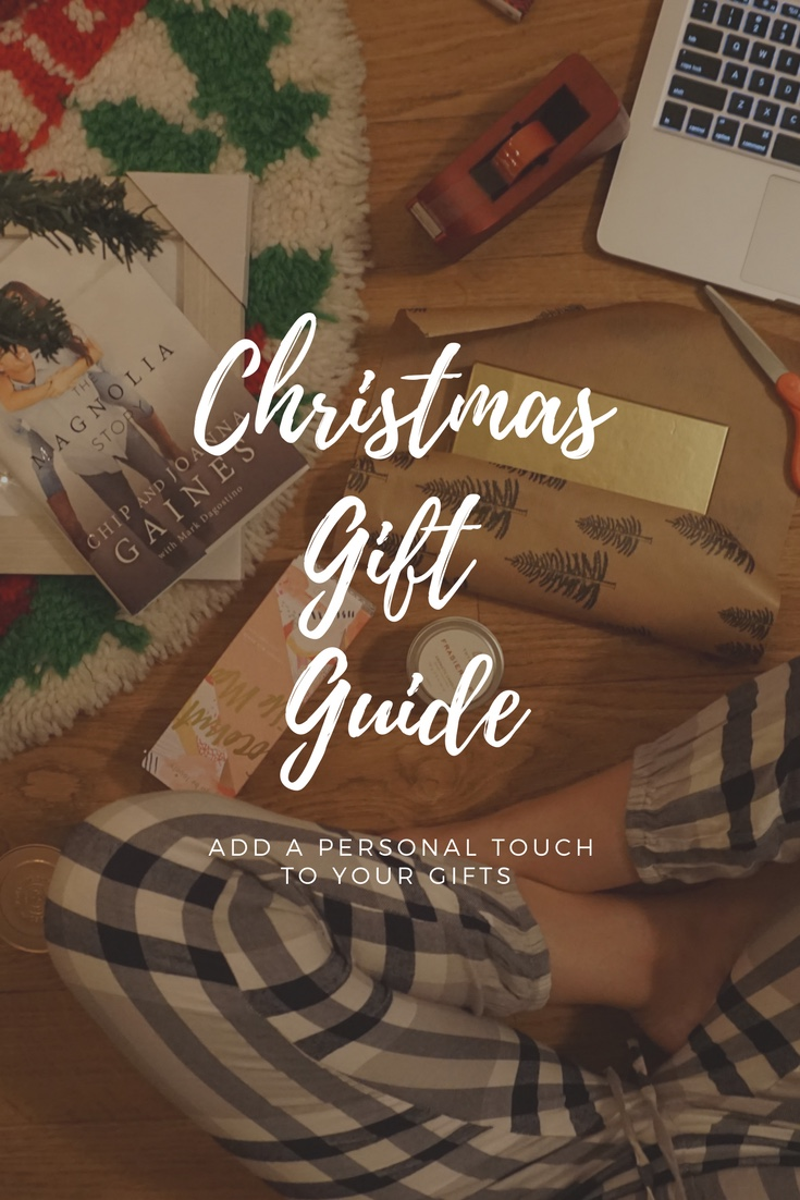 Make sure this year that your gifts have a personal touch to each one of them!