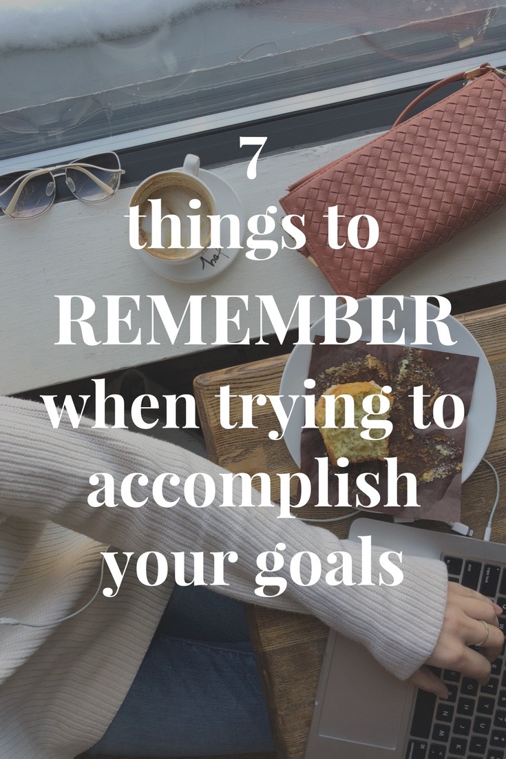 Accomplish your goals this year - AVintageJoy