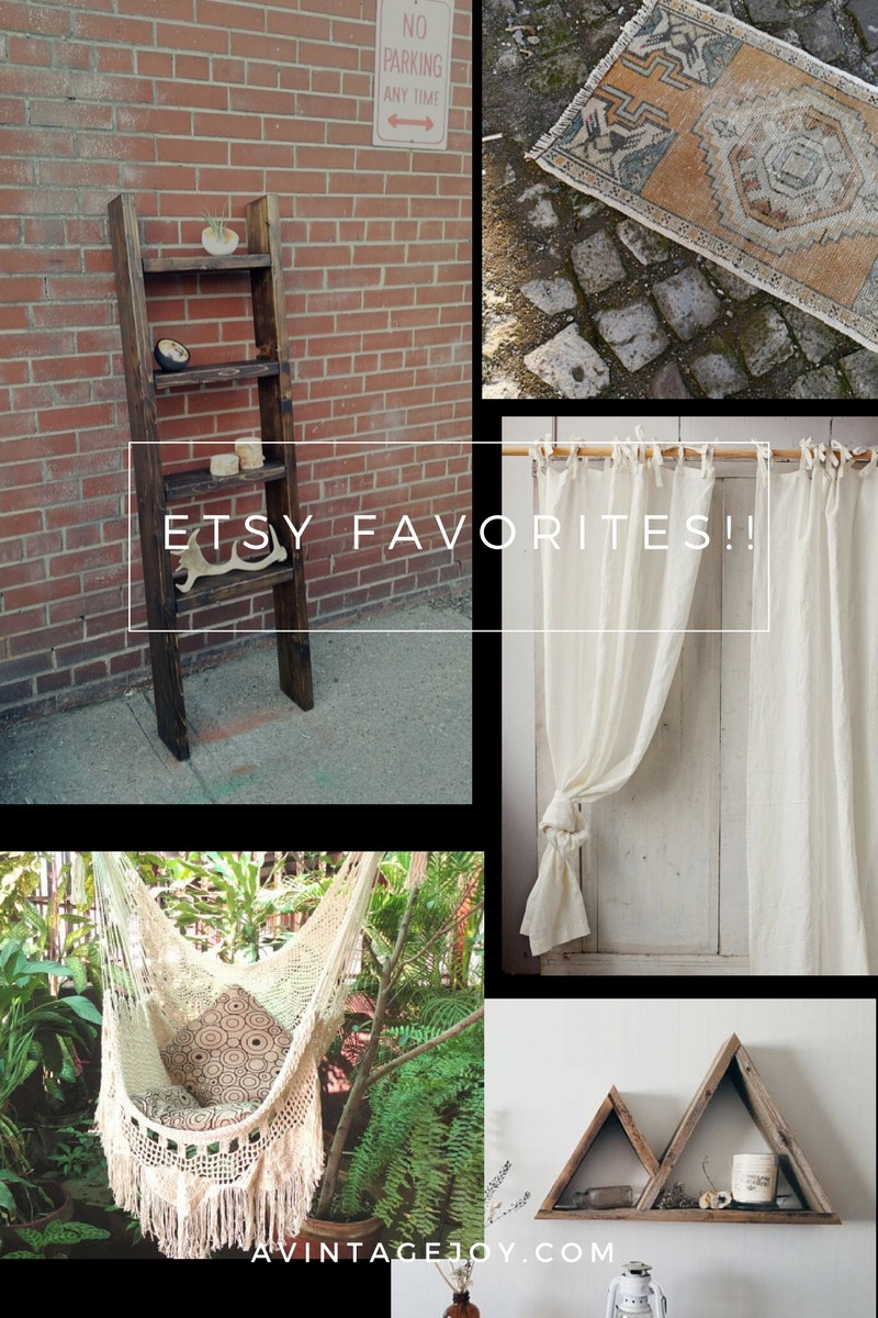 Who doesn't love small businesses! Here are a few of my recent favorites on Etsy!