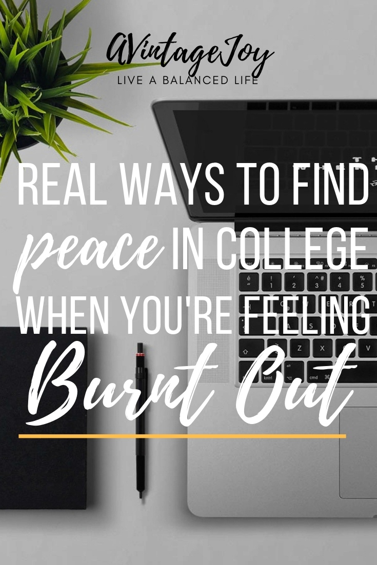 College can be overwhelming! What are ways you can get yourself out of being burnt out? Here's what I did.