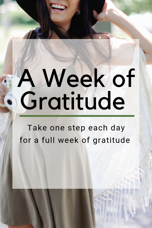 Weeks all blend together while we're not paying attention. In the spirit of intention and gratitude, let's combine forces and focus on one step each day for a more gratitude filled heart! #grateful #aweekofgratitude #intentionalliving #onedayatatime #selfcare #goals