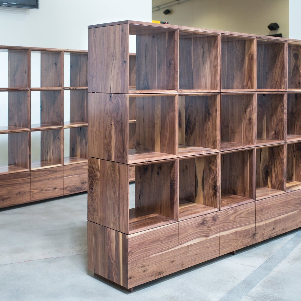 MODULAR SHELVING   PASSION CITY CHURCH