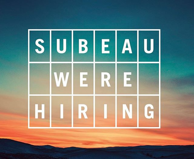 It's been a minute since our last post but we've been busy! We're looking for a project manager to join the team. Please send all inquiries to team@subeau.com