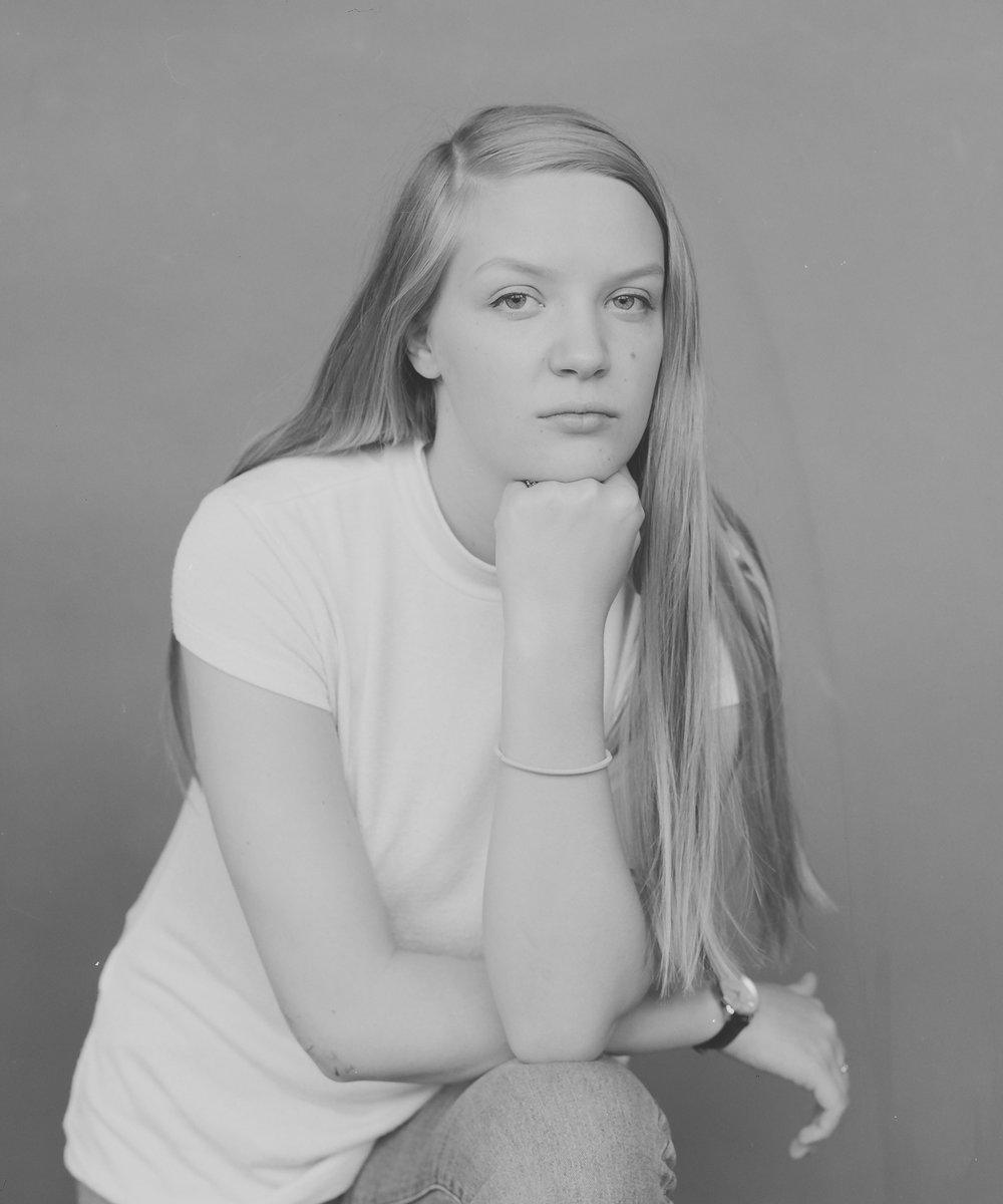Lovise portrettert av Lise-Lott