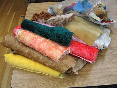 Sorting wonderful mohair gift