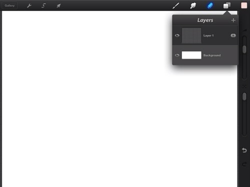Layers drop`down menuResize by dragging with the right mouse button.