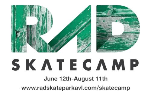 RAD Skatecamp RAD Skatepark Asheville, NC